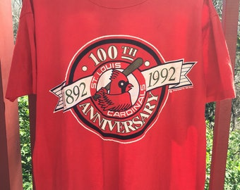 100th Anniversary St. Louis Cardinals Shirt
