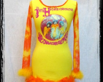 Jimi Hendrix Are You Experienced Color Bomb dress