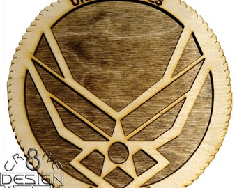 "Air Force   Mini Plaque 6""  CR8-0147"