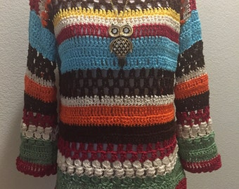 Multicolor Sweater Pattern -NO REFUND