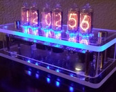 6-Digit IN-8 Nixie Clock - Clear Case - Optional GPS Synchronization ***Reserved for OK***