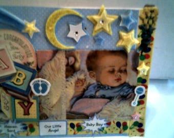 A Star Danced NEWBORN BABY BOY Card Congatulations On Your Baby Boy Card  Stars And Moon Baby Boy Card Baby Shower Card Baby Boy Gift Card