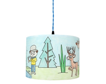 Colour Me In Lampshade - Into the Woods