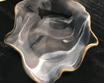 Marble Clay Jewelry Bowls