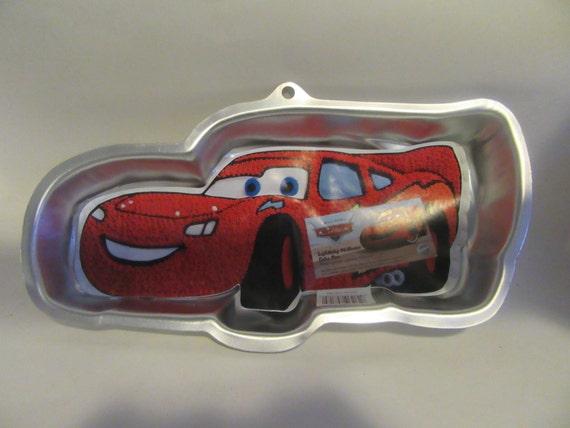 Wilton Disney Lightning Mcqueen Race Car Cake Pan From