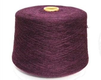 100% cashmere yarn on cone, per 50g