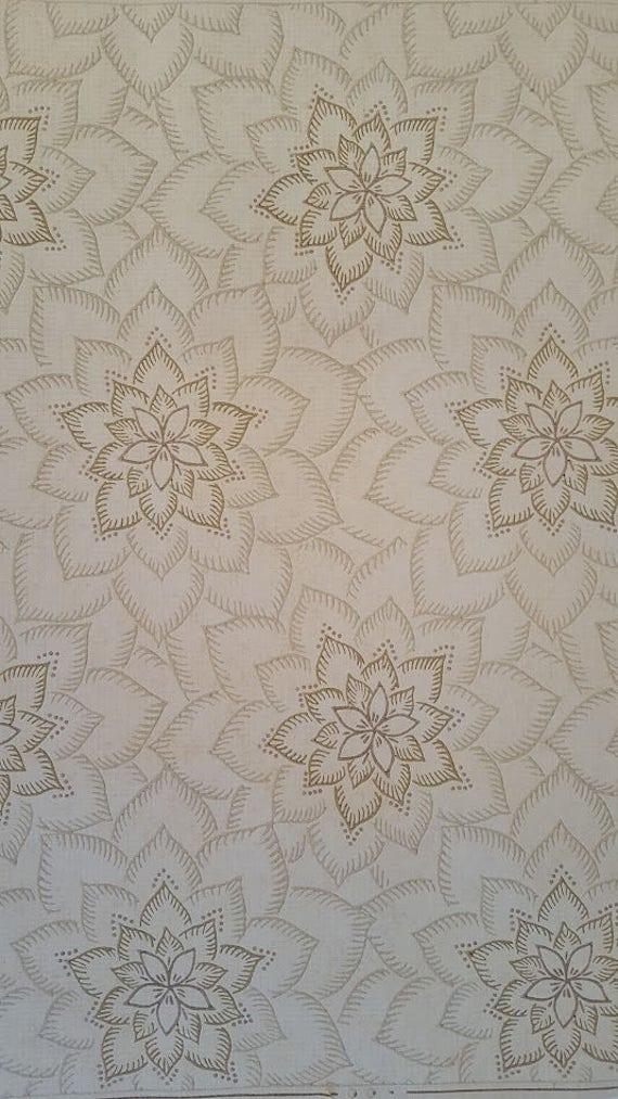 papier peint textur stylis fleurs dentelle fond cr me. Black Bedroom Furniture Sets. Home Design Ideas