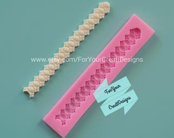 Pearls silicone mold. For chocolate, clay, resin, fondant, candy.
