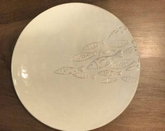 School of Fish Dinner Plate