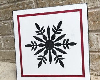 Snowflake - STENCIL ONLY