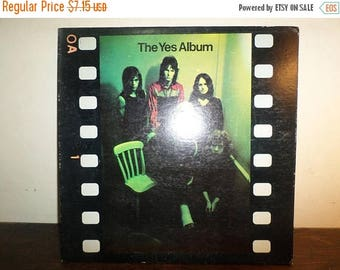 Save 30% Today Vintage 1971 Vinyl LP Record The Yes Album Atlantic Records Very Good Condition 10487
