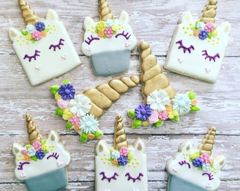 unicorn cookies sugar