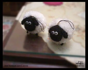 Shirley Sheep Amigurumi crochet pattern from Shaun the Sheep PATTERN ONLY