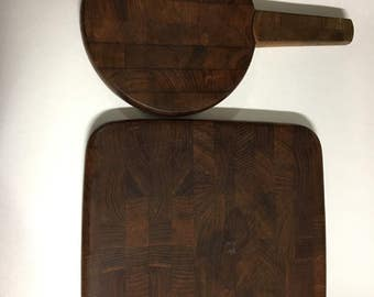 Pair Of Jens Quistgaard For Dansk Cheeseboards. FREE SHIPPING