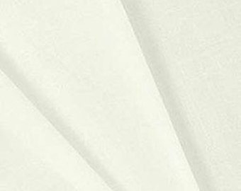 Hanes PC Shal Drapery Lining - Ivory Fabric - by The Yard