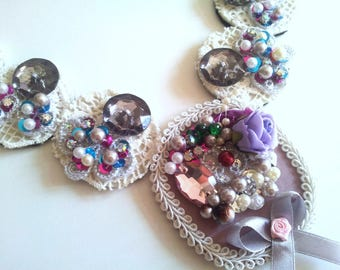 Vintage Burlesque Chain Wedding Victorian Shabby Marie Antoinette