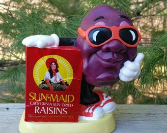 California Sun Maid Raisin Bank 1987