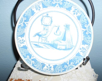Royal Goedewaager Blue Delft Handwork