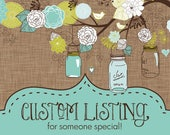 Custom listing for Alyson
