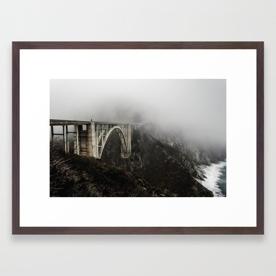 Bixby Canyon Bridge Art