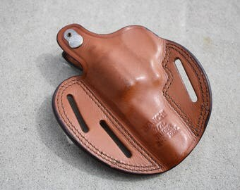 Bianchi 7/7L Ruger 2 - 3 inch Revolver Leather Holster