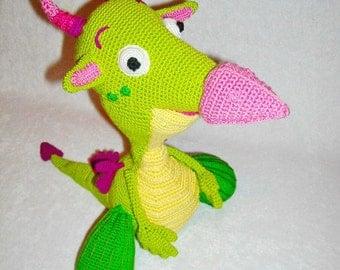 Amigurumi Baby Tv : Sales amigurumi dragon crochet dragon stuffed by innakozachuk