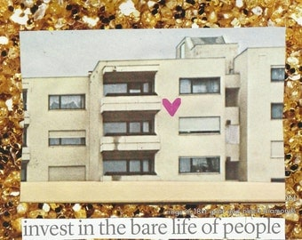 Art Policy 2 - Invest in the bare life of the people