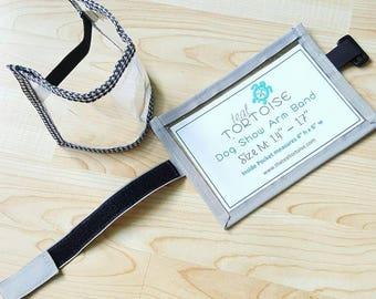 Dog Show Armband - Ajustable - Armband - Elastic or Hook & Loop