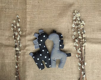 Black & white or Colourful Soft Rattle Teddy