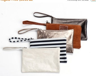Leather Wallet, Mini pouch, women leather wallet, zipper pouch, Sale!