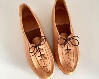 Vintage Kero Sami Laplander boots shoes women size 41 - Lapland - Lappland - Sami - Saami - reindeer skin mules