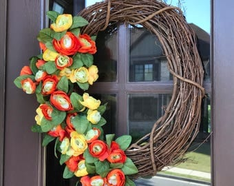 Summer Sun Wreath