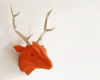 Original arco bricolaje de ciervo, asta de ciervo