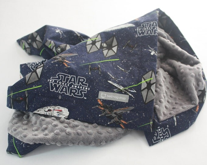 Star Wars Baby Blanket-The Force Awakens Ships