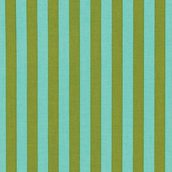 Tabby Road TENT STRIPE Clear Skies Tula Pink Sold in 1/2 yd increments