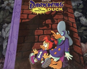Darkwing Duck 1992 That Sinking Feeling Hardcover Book