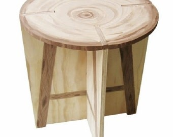 Flat Pack Stool DIY Woodworking Plans