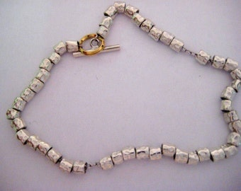 Bracelet Silver Granules