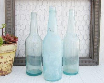Old soda bottle etsy for Decor drink bottle