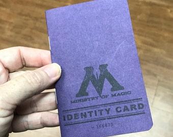 Custom Ministry of Magic ID