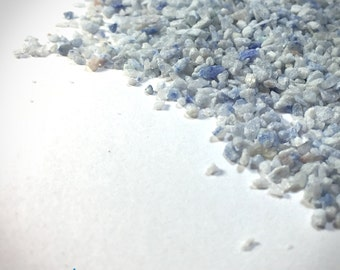 Blue Quartz - Small Sand - 100% Natural Without Fillers