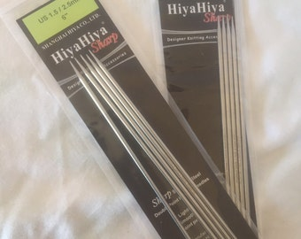 HiyaHiya sharps DPN's 2.50mm