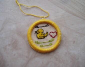 Easter dorset buttons/Dorset buttons/ Easter ornament /Home decor/ Handmade/embellishment