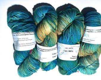 Lanartus Brando B27 B28, B29, B30 LL approx. 250 m, 19, 5µ free 100% wool Mulesing