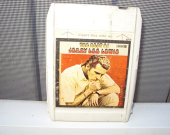 Jerry Lee Lewis 8 track tape