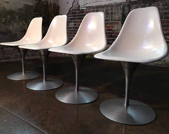 Mid century modern dining chairs tulip chair mid century dining set knoll burke arkana tulip chair