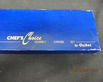 Chefs Choice Carving Set by Quikut