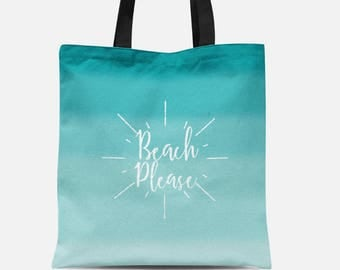 Beach please bag | Etsy