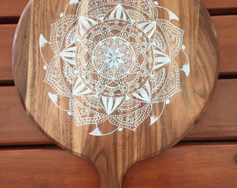 Mandala Serving Board