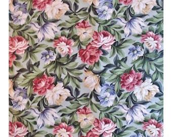 23 Yards Chintz Fabric Saison Floral Flowers